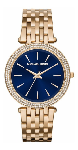 Relógio Michael Kors Mk3406-4an Dourado - Original