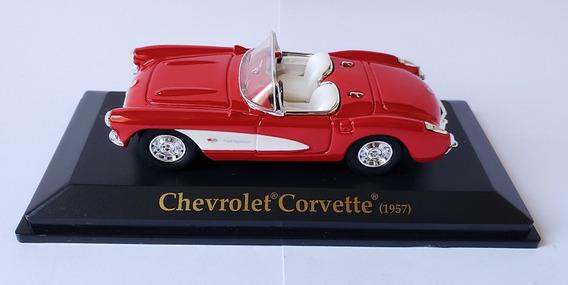 Miniatura Chevrolet Corvette 1957 - Esc: 1/43