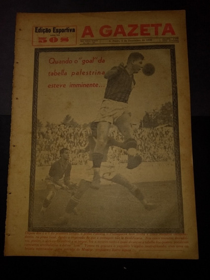 Gazeta Esportiva Nº 508 [ Palmeiras Palestra]