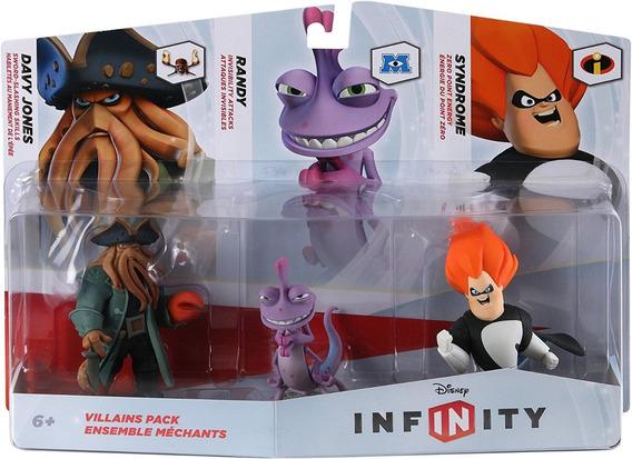 Disney Infinity 1.0 Vilões - Randy - Síndrome - Davy Jones