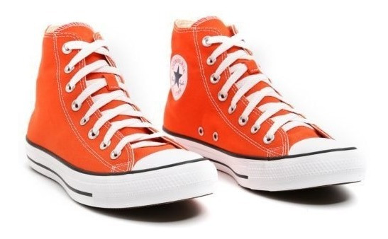 Tenis Converse All Star Ct Core Hi Bota Laranja