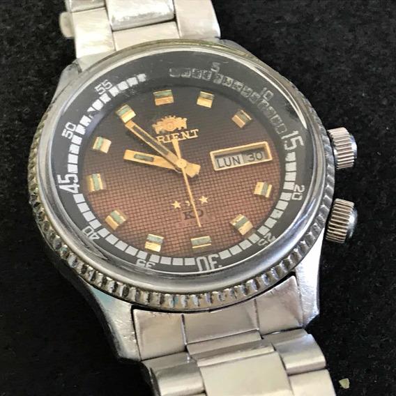 Relógio Vintage Orient King Diver 21 Jewels Automático 80s