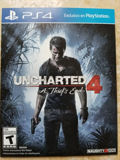 Uncharted 4 40soles Entrega Inmediata