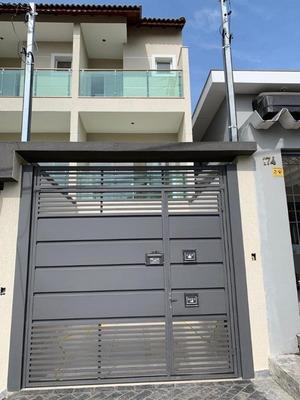 Sobrado Com 3 Dormitórios À Venda, 170 M² Por R$ 770.000 - Jardim Paraíso - São Paulo/sp - So1056