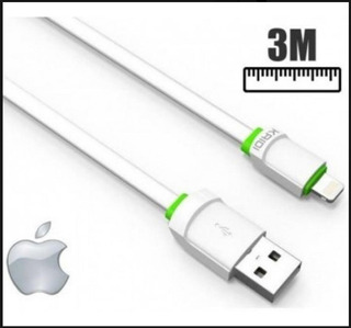 Cabo iPhone Kaidi 3 M Kd-330a Todos iPhone Lightning 3 M