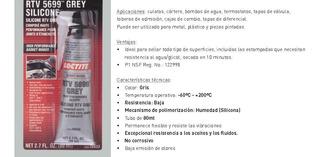 Silicona Loctite Gris Alta Temperatura ****leer****unidad***