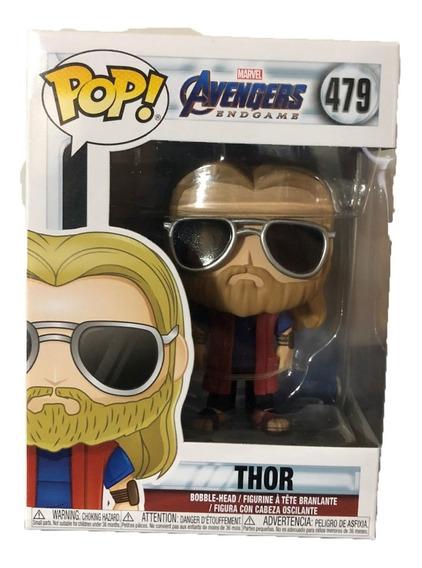 Funko Pop Figura Juguete Marvel Avengers Endgame Thor Casual
