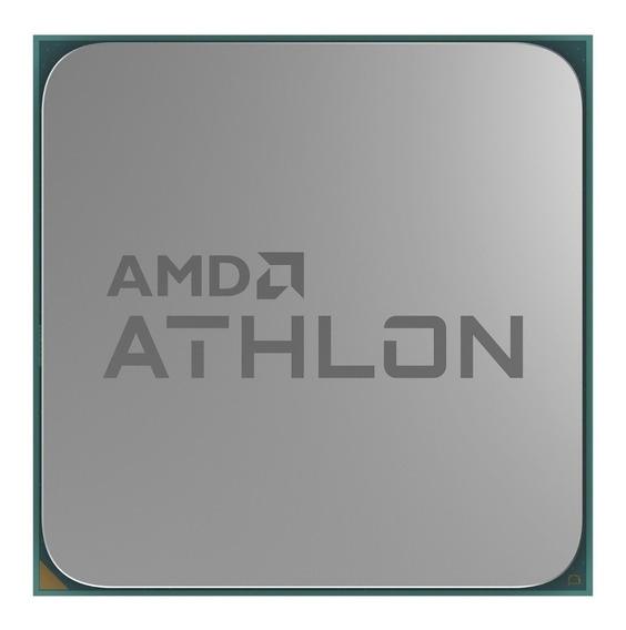 Procesador AMD Athlon 3000G YD3000C6FHBOX de 2 núcleos y 3.5GHz de frecuencia con gráfica integrada