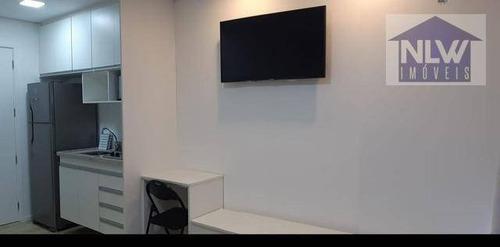 Studio Com 1 Dormitório À Venda, 22 M² Por R$ 415.000,00 - Consolação - São Paulo/sp - St0188