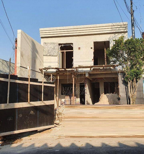 Imagem 1 de 13 de Sobrado Com 3 Dormitórios À Venda, 90 M² Por R$ 420.000,00 - Jardim Das Maravilhas - Santo André/sp - So4202