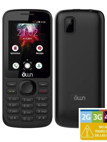 530b7ed662b Celular Basico Own F1313 Negro (celular Con Teclas) Nuevo.