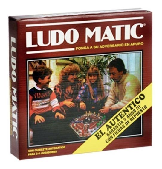 Ludomatic El Autentico Con Cubilete Automatico Original 1001