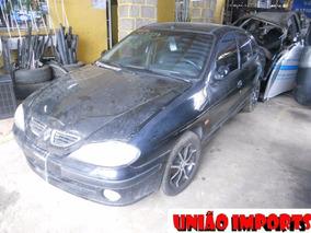 Sucata Renault Megane 2.0 8v 2001 Retirada De Peças
