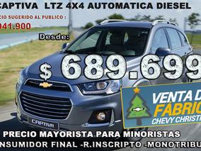 Chevrolet Captiva Ltz Automatica A Precio Mayorista Desde