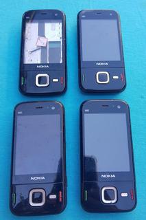Lote Com 4 Celulares Nokia N85 (leia A Descrição)