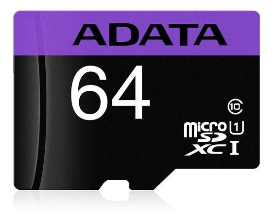 Cartão De Memória Adata Microsdxc 64 Gb Classe 10