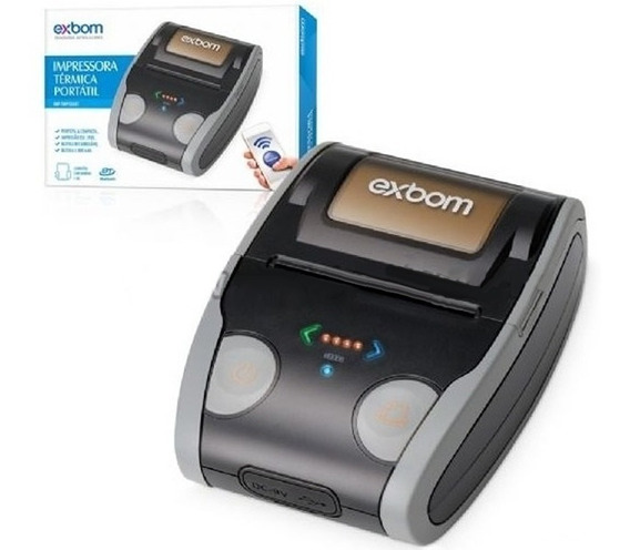 Mini Impressora Termica Portatil Celular Bluetooth Cupom 58m