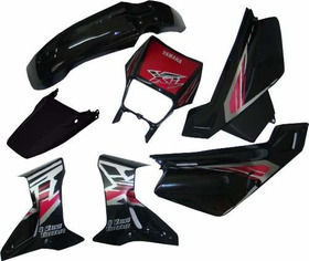 Kit De Carenagem Yamaha Xt 600 - 1997 A 2004 - Paramotos