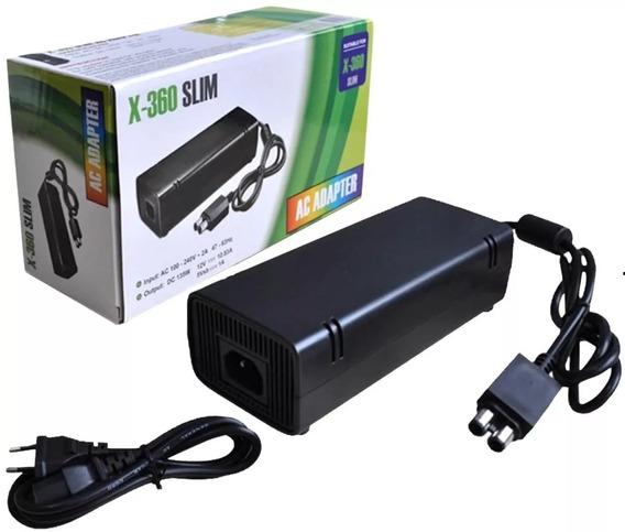 Kit 2 Fonte Para Xbox 360 Slim Bivolt 110v 220v 135w
