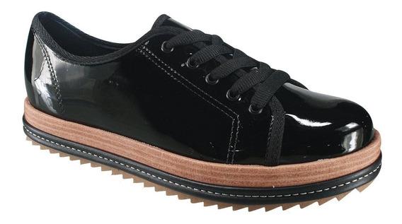 Sapato Feminino Tratorado Verniz Beira Rio Original 4196