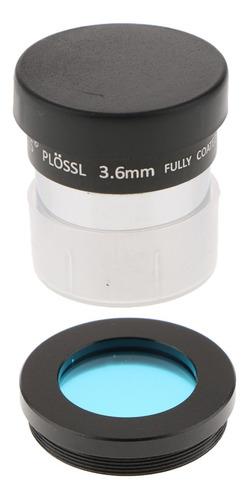 Filtro Azul Para Acessório Do Telescópio De 1,25  E Lente