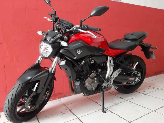 Yamaha Mt 07 20016 Vermelha