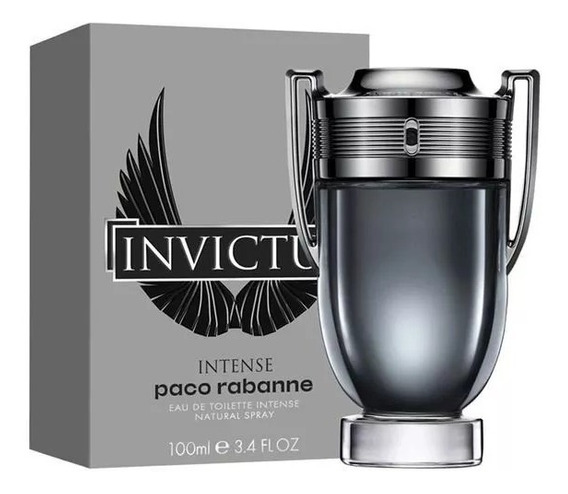 Paco Rabanne Invictus Intense Masc Edt 100ml + Amostra