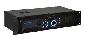 Amplificador De Potência Oneal Op2400 120/240v Preto