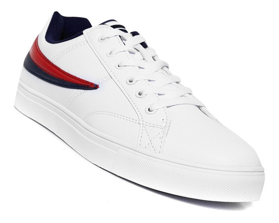Tenis Fila Smokescreen Low 1cm00119 125 Blanco/rojo