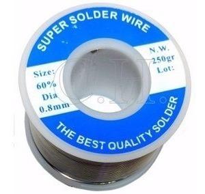 Rollo Estaño 60/40 1 Libra Super Solder 120 Metros