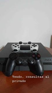 Consola Ps4 Con 500gb, 2 Joystick, 2 Juegos Y Auriculares