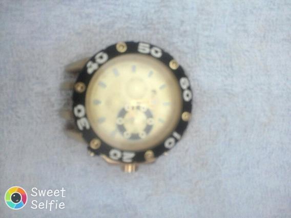 Relógio Redley 4392 , Com Banho De Ouro