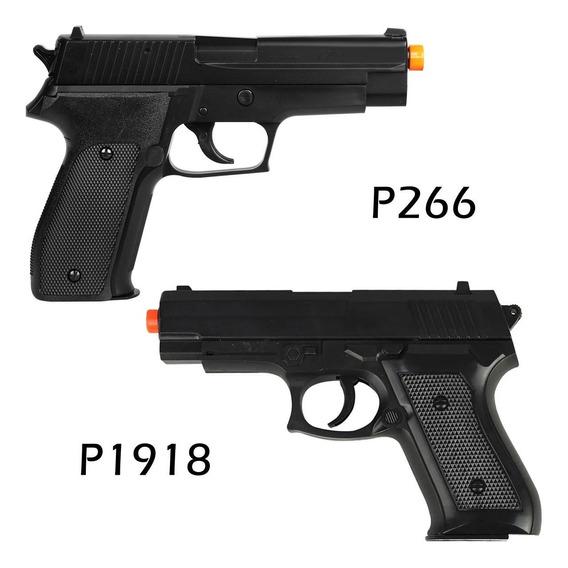 Airsoft Spring Sig Sauer P226 + Rossi P1918 6mm Mais Barato
