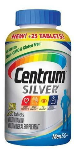 Centrum Silver Men 50+ Homem Multivitaminico 275 Caps Import
