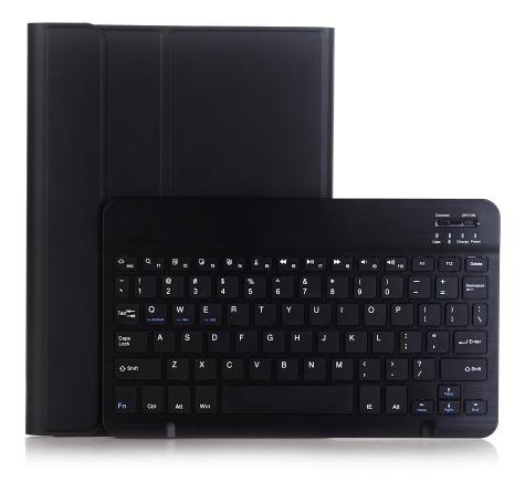 A102 iPad Estuche Cuero Teclado Bluetooth Extraible