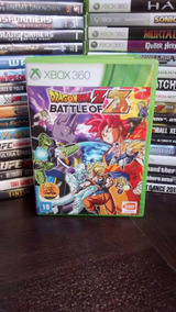 Dragon Ball Z Battle Of Z Xbox 360 Original Frete R$ 12 Pt