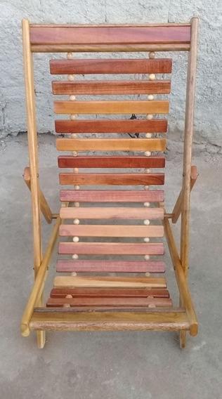 Cadeira De Madeira Para Praia