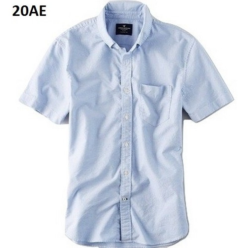 M, L - Camisa American Eagle Azul C20ae Ropa Hombre Original