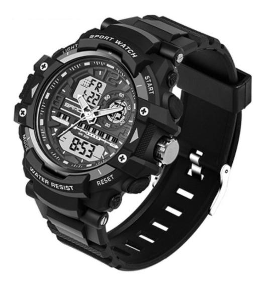 Reloj Analogo Digital Militar Táctico Resistente Uso Rudo