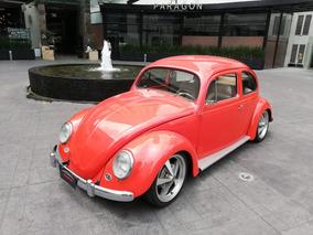 Volkswagen Sedan Oval 1956 Naranja