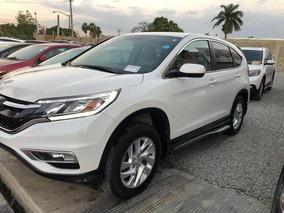 Honda Crv Awd Ex Blanca 2015