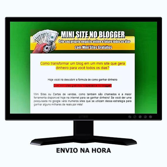 Mini Site Para O Blogger
