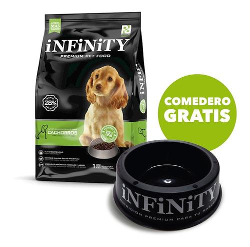 Alimento Perros Cachorros Infinity Premium 1 Kg