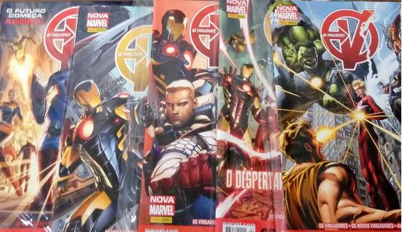 Coleção Vingadores E Avante Vingadores - Nova Marvel