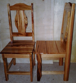 2 Cadeiras Infantil Madeira Muiracatiara Verniz P.u.