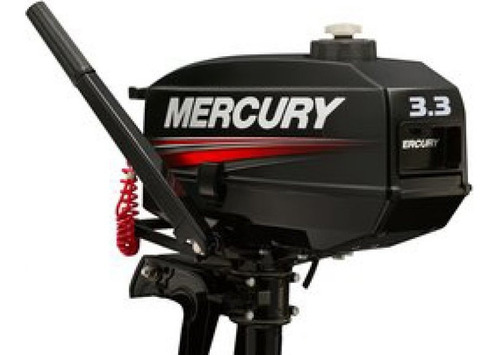Imagen 1 de 14 de Motor Fuera Borda Mercury 3.3 2 Tiempos Con Cambios Garantia