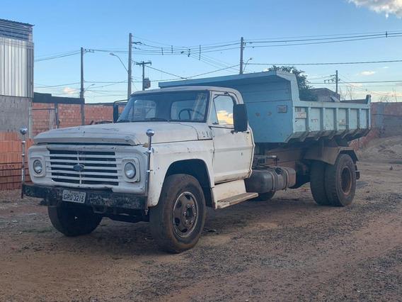 Caminhão Ford Caçamba F600 Ano 1980