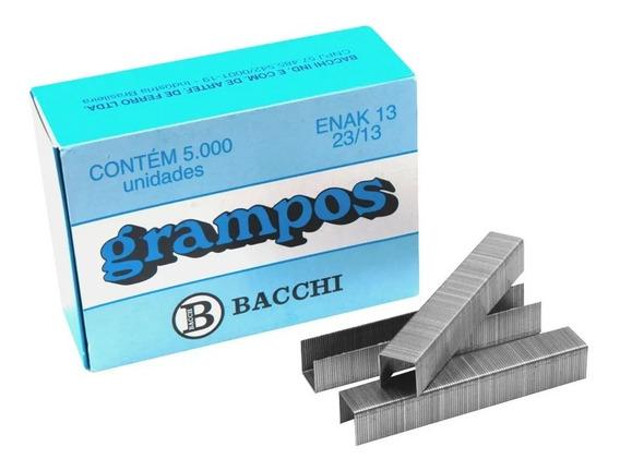 Grampo Enak 23/13 Galvanizado Cx. C/ 5000un. Bacchi