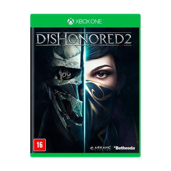Jogo Mídia Física Dishonored 2 Bethesda Original Xbox One