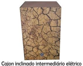 Cajon Inclinado Intermediário Elétrico